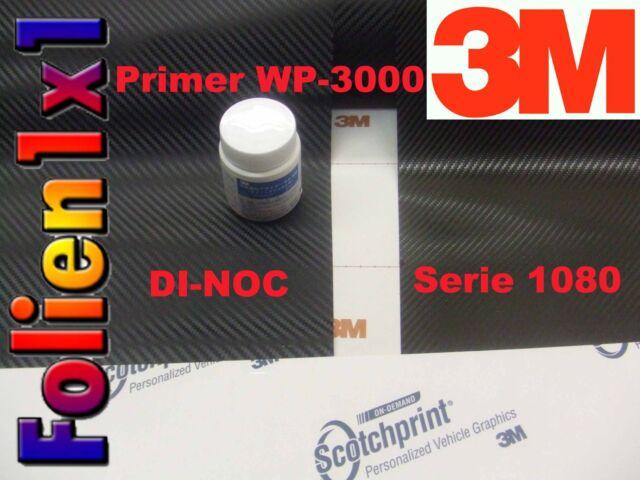3M™ DI-NOC™ CA421 Carbon Folie schwarz Strukturfolie 24cm x 60cm+ 5 ml 3M Primer
