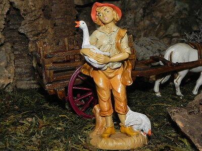 "Italian Nativity Scene Figurine Euromarchi Presepio Pesebre Manger Creche 3.5"""