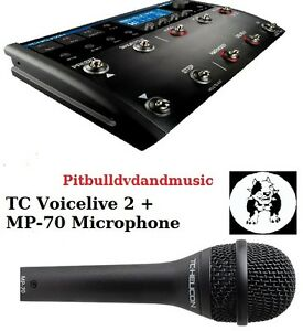 Vocal Mic Effect : tc helicon voicelive 2 vocal effects harmony processor mp 70 microphone ~ Hamham.info Haus und Dekorationen
