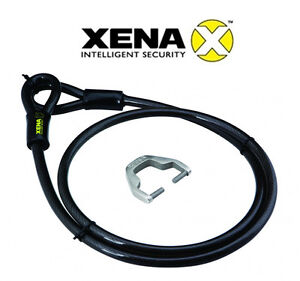 antivol cable adaptateur xena xx150 pour bloque disque moto scooter homologu ebay. Black Bedroom Furniture Sets. Home Design Ideas
