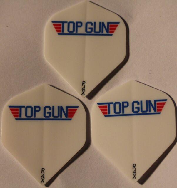 Top Gun Ruthless Extra Strong Darts Flights 5 packets Brand New