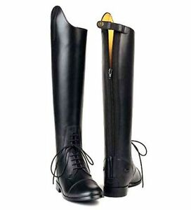 Treadstone-Ladies-Leather-Tall-Field-Boots-207-Zip-Calf-Sizes-Slim-XXWIDE