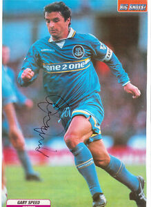 GARY-SPEED-EVERTON-1995-1998-ORIGINAL-HAND-SIGNED-PICTURE-SUPERB