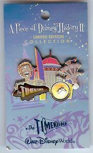 Disney-Piece-Of-History-II-Timekeeper-Tomorrowland-pin-LE-2500-BRAND-NEW-ON-CARD