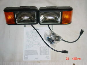 curtis sno pro 3000 plow lights snowplow light kit truck lite ford image is loading curtis sno pro 3000 plow lights snowplow light