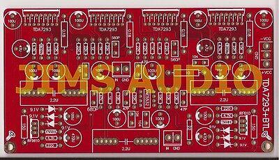 TDA7293 x 4 BTL 350W amplifer PCB ultra reliable !!!