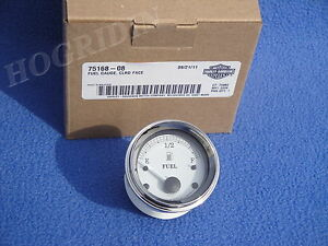 HARLEY-TOURING-ELECTRA-GLIDE-STREET-ROAD-FUEL-GAS-LEVEL-GAUGE-FLTR-75168-08-NEW