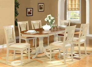 OVAL DINETTE DINING ROOM SET TABLE EXTENSION LEAF w/6 CUSHION ...