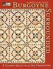 Burgoyne Surrounded: A Classic Quilt  Print on Demand Edition by Elizabeth Carlson (Paperback, 2004)