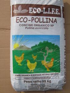25-CONCIME-POLLINA-COMPOSTO-ORGANICO-BIOLOGICO-ECOLOGICO-ORTAGGI-LENTA-CESSIONE