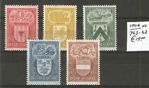 BELGIE-1946-MNH-OCB-743-47-19-00-V-2036