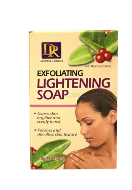DAGGETT & RAMSDELL EXFOLIATING LIGHTENING SOAP WITH BEARBERRY EXTRACT 3.5 OZ.