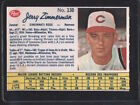 1962 Post Jerry Zimmerman #130 Baseball Card