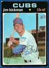 1971 Topps Jim Hickman Chicago Cubs #175 Baseball Card