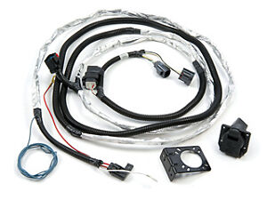 2007 2016 jeep wrangler jk trailer tow wiring harness With jeep trailer wiring harness