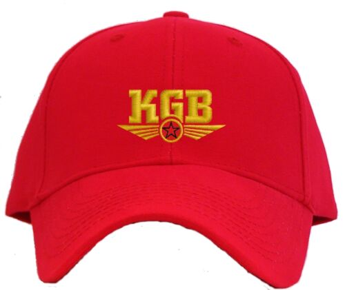 KGB Embroidered Baseball Cap Hat russian intelligence Available in 7 Colors