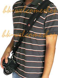 4th-Edition-Neoprene-Rapid-Quick-Camera-Sling-Black-Strap-for-DSLR-SLR-Cameras