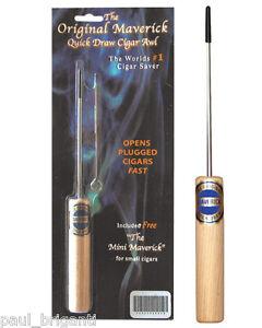 The-Original-Maverick-Quick-Draw-Cigar-Saver-Awl-Enhancer-w-Free-Mini-Maverick
