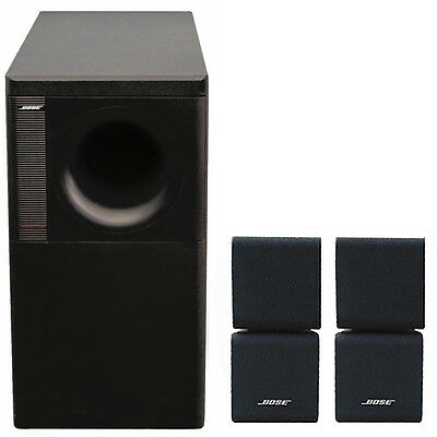 bose acoustimass 5 series iii lautsprecher system ebay. Black Bedroom Furniture Sets. Home Design Ideas