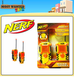Nerf Hasbro Walkie Talkie Set Brand New Stampede