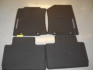 2012 2014 toyota tacoma access cab all weather floor mats oem pt908 35121 20. Black Bedroom Furniture Sets. Home Design Ideas