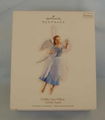 Hallmark 2007 Holiday Angels # 2 Series Unlike Any Christmas Keepsake Ornament