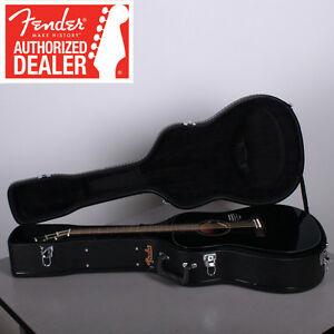 Fender-CD-60-Black-Acoustic-Guitar-w-Hard-Shell-Case-Brand-New-CD60