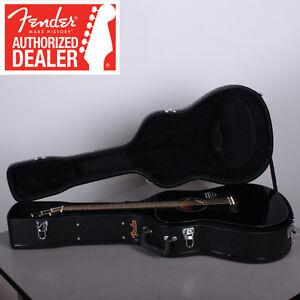 Fender-CD-60-Black-Acoustic-Guitar-w-Hard-Shell-Case-Brand-New-CD60