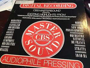 CBS-MASTERSOUND-HIGHLIGHTS-AUDIOPHILE-902-DJ-PROMO-WHITE-LABEL