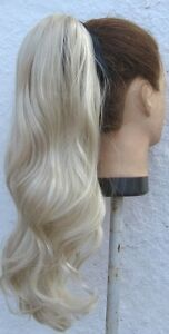 20034 light blonde wavy curly pony tail hair extension hair piece fancy dress new - Slough, United Kingdom - Return in 7 days, unused Most purchases from business sellers are protected by the Consumer Contract Regulations 2013 which give you the right to cancel the purchase within 14 days after the day you receive the item. Find out more - Slough, United Kingdom
