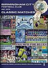 Birmingham City - Classic Matches (DVD, 2008)