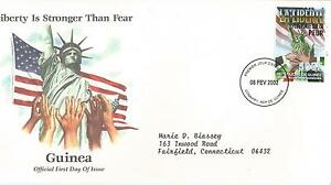 FDC-2001-SEPTEMBER-11th-COALITION-OF-FORCES-COMMEMORATIVE-COVERS-GUINEA