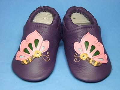 Liya's Lauflernschuhe Kinderschuhe echtes Leder mit Gummisohle Größe 19-34
