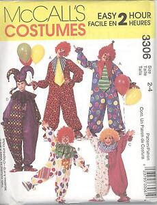 McCall-039-s-3306-Adult-Easy-2-Hour-Clown-Costumes