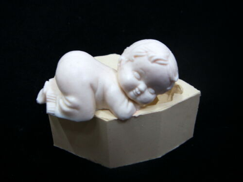 3D Baby #1, Silicone Mold Chocolate Polymer Clay Jewelry Soap Melting Wax Resin