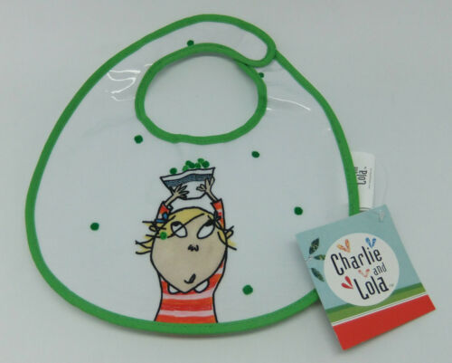 2 designs to choose from Charlie and Lola /'Lola/' Bibs BNWT