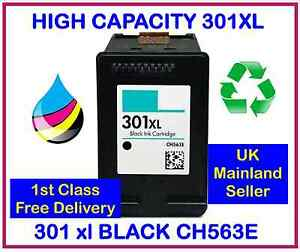 HP-301XL-Black-INK-CARTRIDGE-for-Deskjet-1000-1050-1050a-2000-2050-PRINTERS