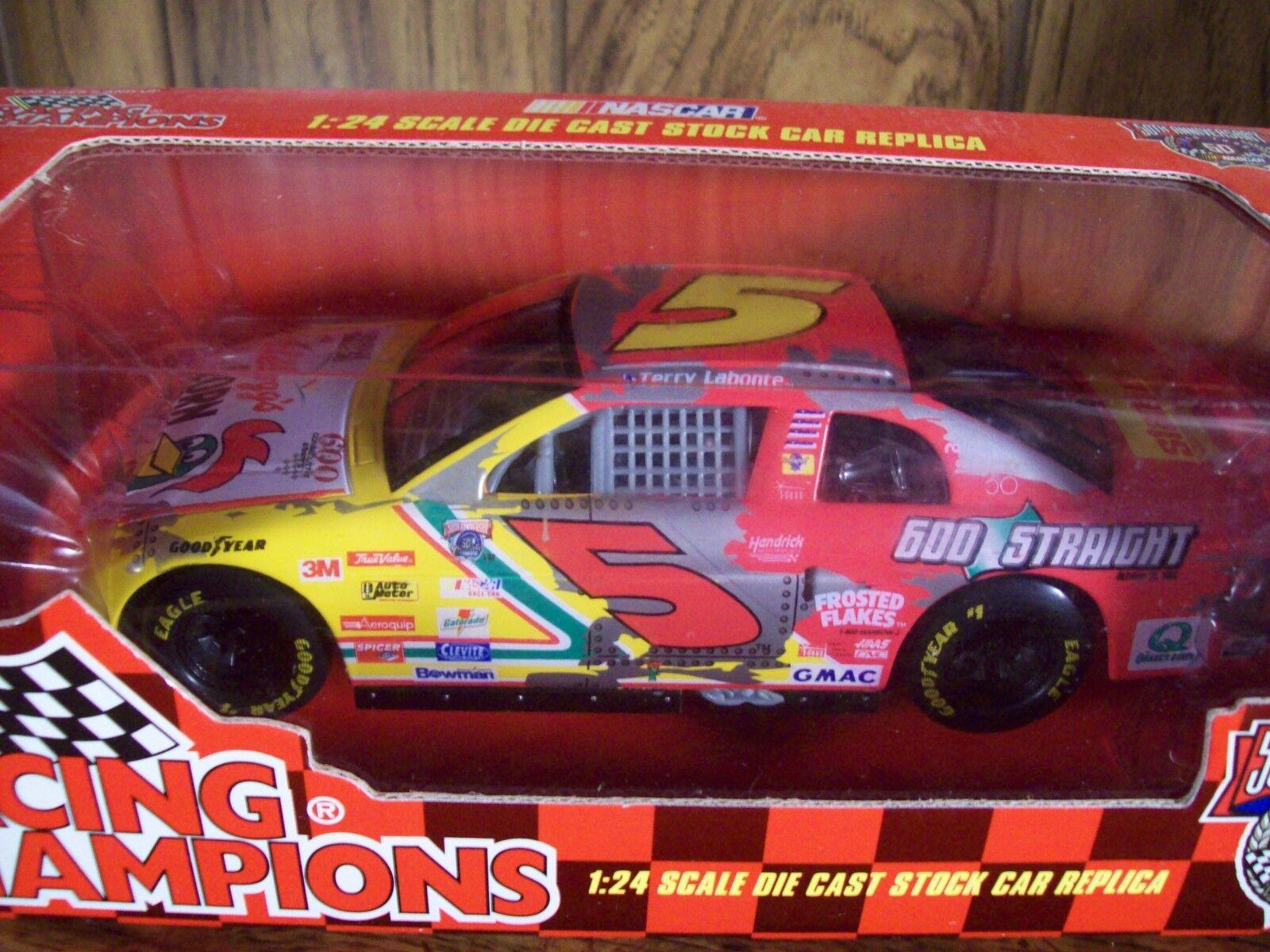 TERRY LABONTE IRON MAN  1 24 SCALE KELLOGG'S NASCAR CAR