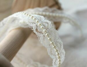 Ivory-Lace-and-Pearl-Beaded-Trim-Ribbon-Vintage-Inspired-Bridal-Wedding