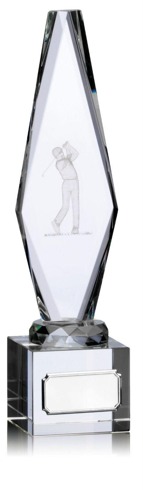 Verre golf Gravure trophée gratuite Gravure golf et gratuit Boîte de présentation d4af93