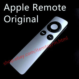 Original-Apple-Remote-Control-Aluminum-Fo-iPhone-MacBook-Apple-TV-2-3-MC377LL-A