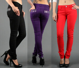 New-Sexy-Womens-Multi-Colors-Premium-Fitted-Jegging-Style-Skinny-Jeans-Pants