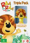 Raa Raa The Noisy Lion (DVD, 2013, 3-Disc Set)
