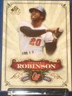 2006 Upper Deck SP Legendary Cuts Frank Robinson Baltimore Orioles #22 Baseball Card