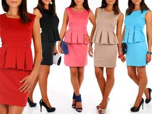 Fashionable-Women-039-s-Dress-Unique-Pattern-Tunic-Style-Sleeveless-Size-10-16-FA27