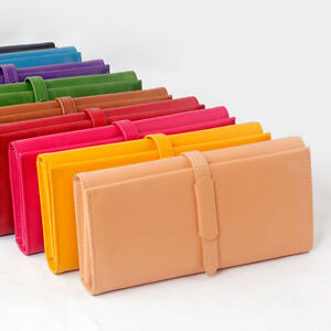 New-Card-Coin-Long-Lady-Purse-women-039-s-Clutch-Wallet-PU-Leather-Gift-Bag-In-DK