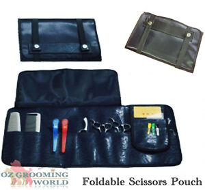 Leather-Folding-Scissors-Pouch-Bag-For-Grooming-amp-Hairdressing-Tool-Storage-Case