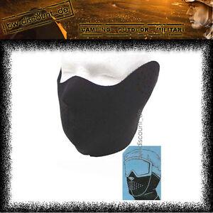 Kaelteschutz-NEOPREN-Gesichtsmaske-Maske-Sturmhaube-Ski-Skimaske