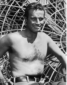 CHARLTON HESTON 10x8 bw quality photograph - <span itemprop=availableAtOrFrom>Newcastle upon Tyne, Tyne and Wear, United Kingdom</span> - CHARLTON HESTON 10x8 bw quality photograph - Newcastle upon Tyne, Tyne and Wear, United Kingdom