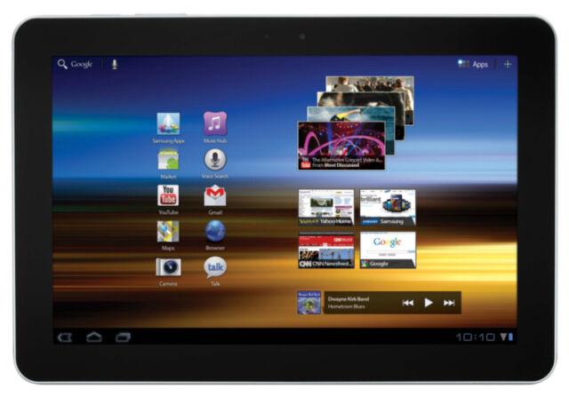Samsung Galaxy Tab SCH-I905 16GB, Wi-Fi + 4G (Verizon) 10.1in White GREAT PRICE